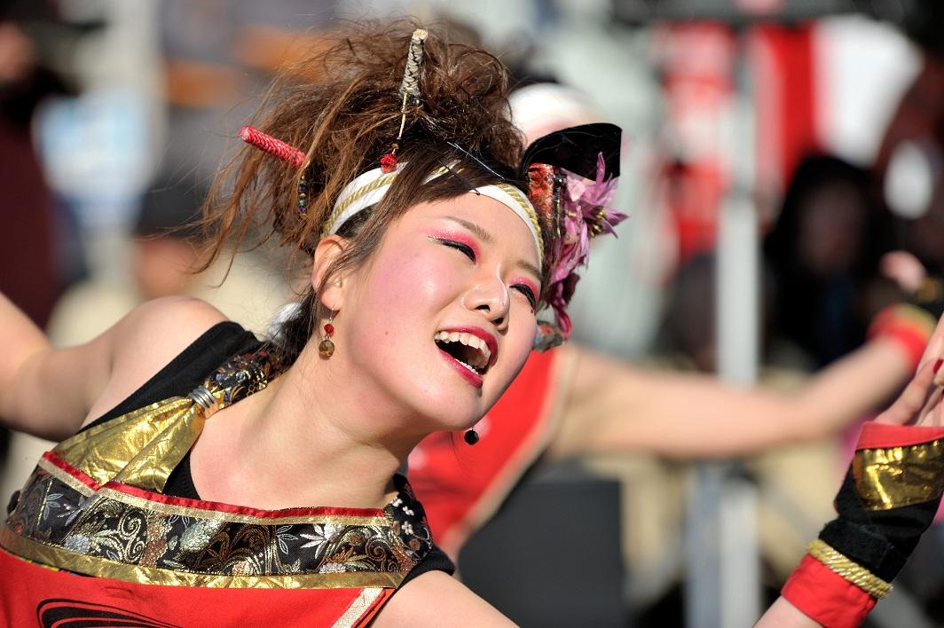 第14回吾妻さんよさこいパレード「銀輪舞隊」_f0184198_2382136.jpg
