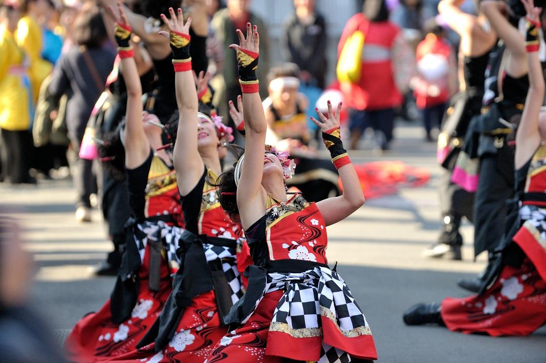 第14回吾妻さんよさこいパレード「銀輪舞隊」_f0184198_2382918.jpg