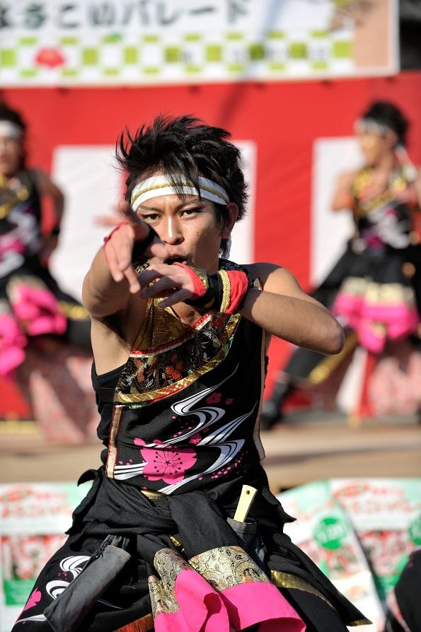 第14回吾妻さんよさこいパレード「銀輪舞隊」_f0184198_238439.jpg