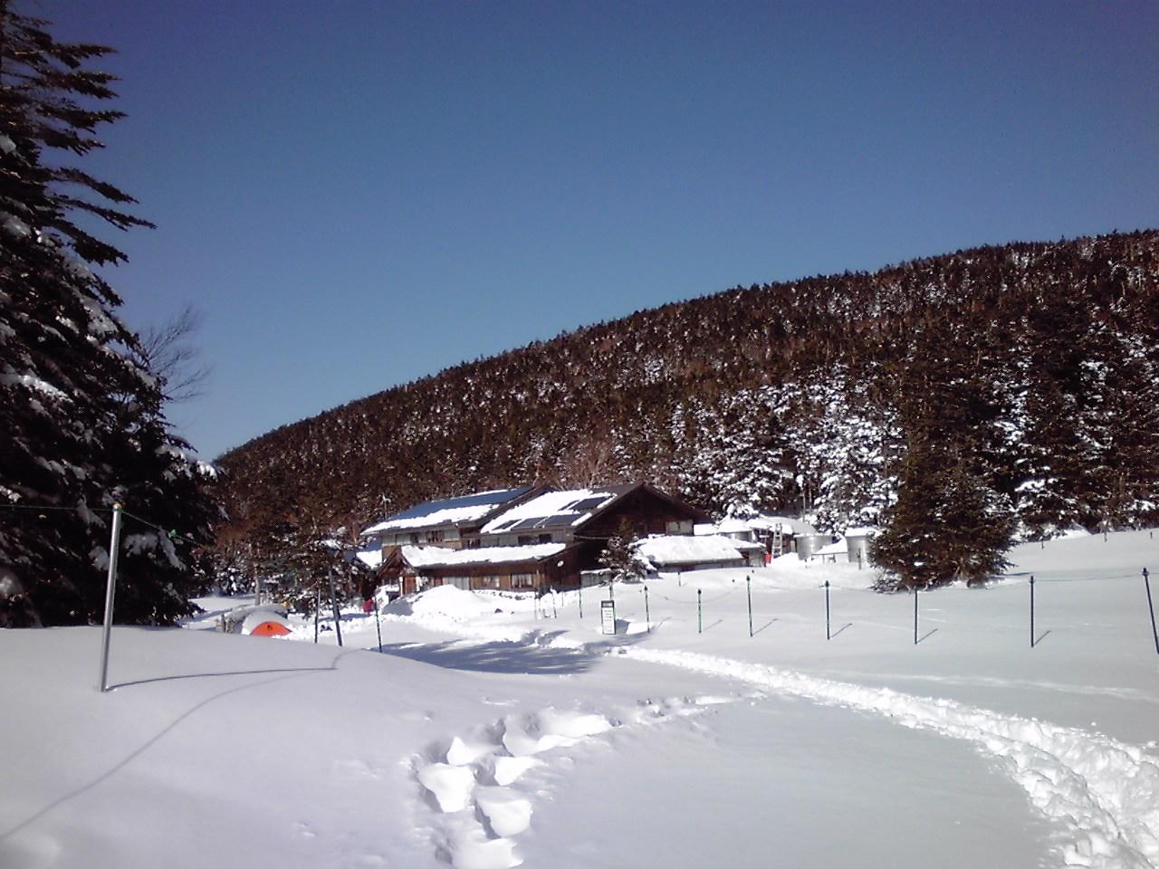 今シーズン初の天狗岳_e0155231_7553447.jpg