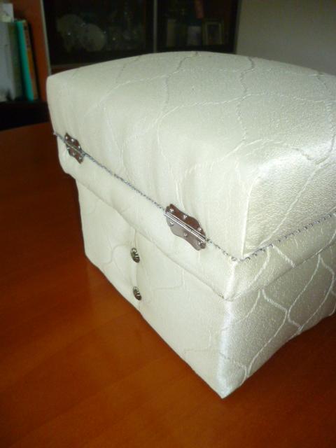 茶箱 1kg おせんべ入れ_b0242032_166439.jpg