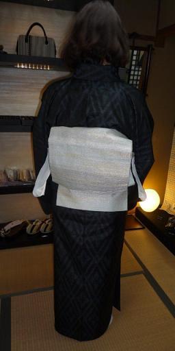 雪だるまのショールに素敵なお手製コートのお客様_f0181251_17354317.jpg