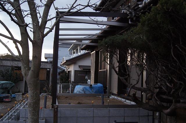 庭の工事 7_e0181373_20464357.jpg