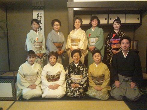 """茶道""""初釜"""" 新調した袴とコートで_d0230676_17172487.jpg"""