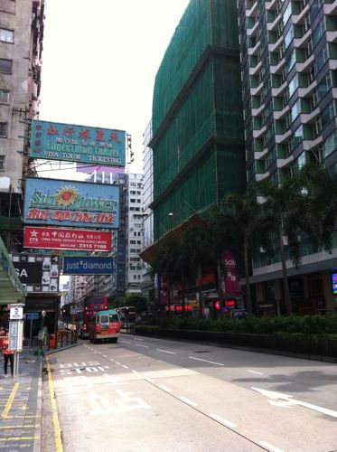 旅日記 香港 2011SEP 5 THE LOBBY と 點一龍 Dimsumbar_f0059796_23191460.jpg