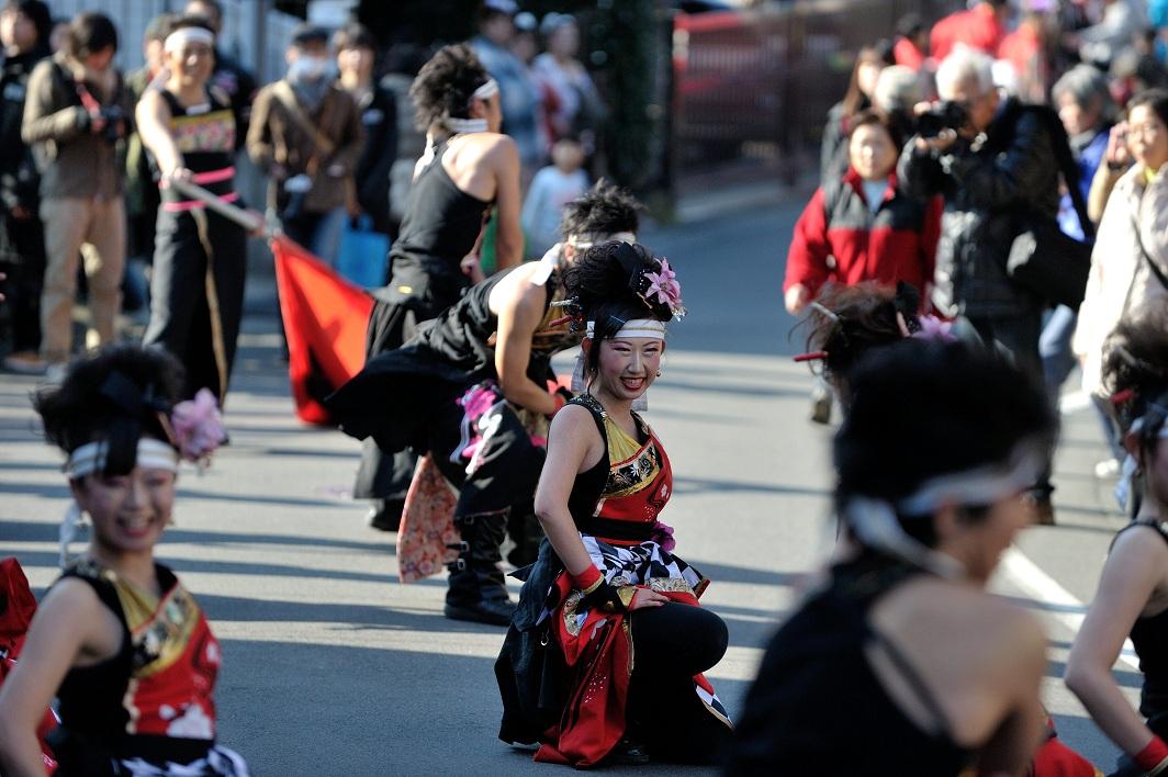第14回吾妻さんよさこいパレード「銀輪舞隊」_f0184198_2310982.jpg