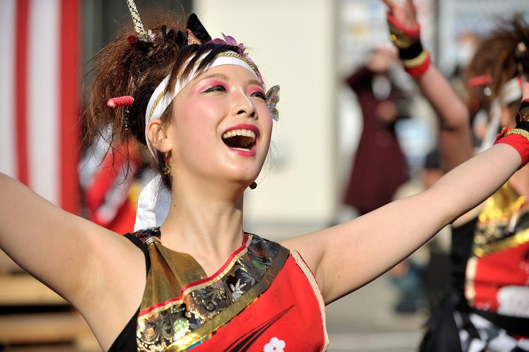 第14回吾妻さんよさこいパレード「銀輪舞隊」_f0184198_2342086.jpg