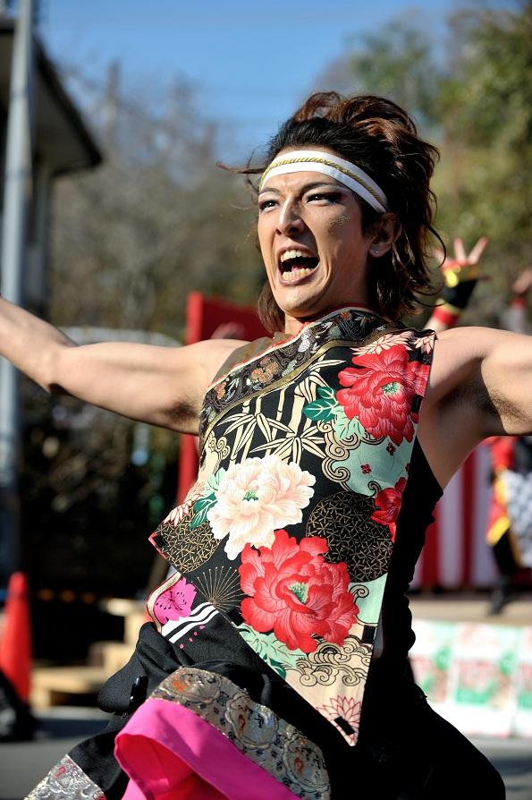 第14回吾妻さんよさこいパレード「銀輪舞隊」_f0184198_2343581.jpg