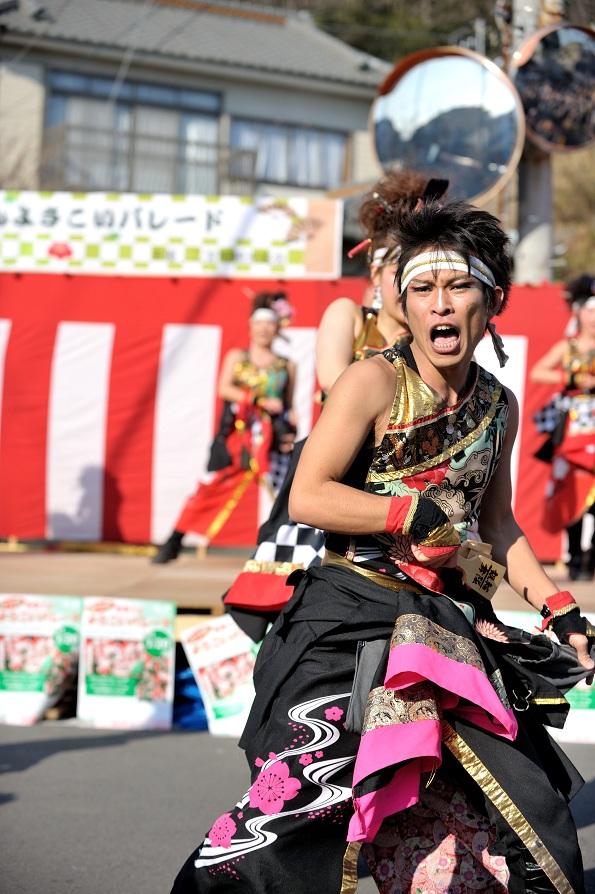 第14回吾妻さんよさこいパレード「銀輪舞隊」_f0184198_2343849.jpg
