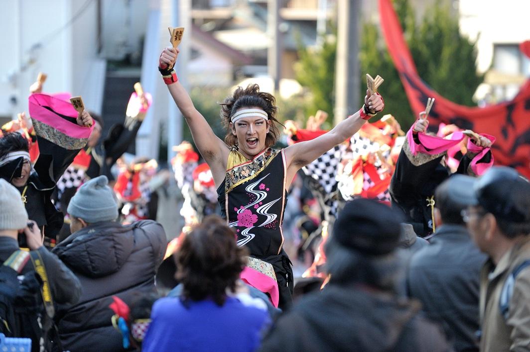 第14回吾妻さんよさこいパレード「銀輪舞隊」_f0184198_2365756.jpg