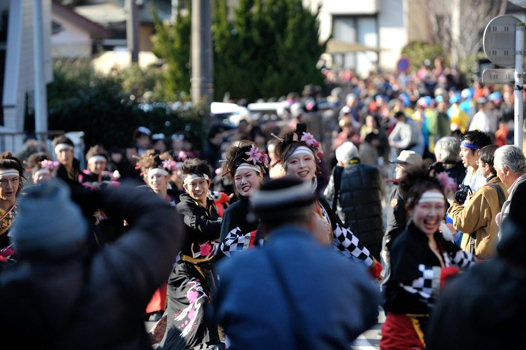 第14回吾妻さんよさこいパレード「銀輪舞隊」_f0184198_2371720.jpg
