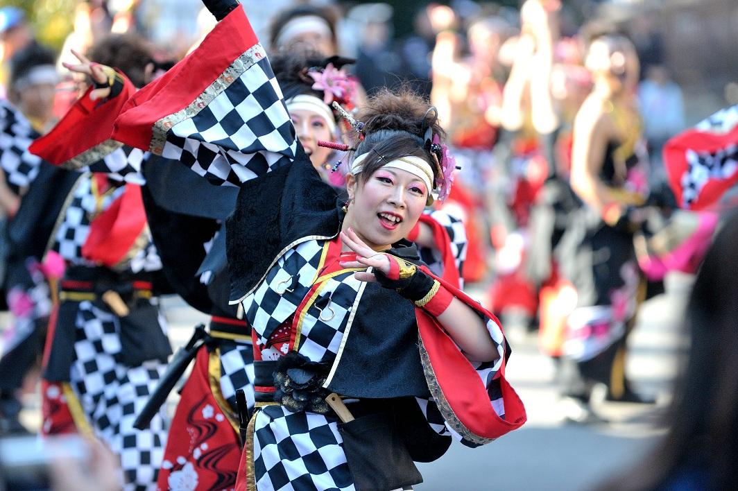 第14回吾妻さんよさこいパレード「銀輪舞隊」_f0184198_2394446.jpg