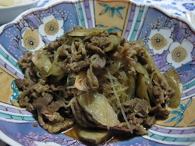 芽キャベツ天ぷら、海老と豆腐の中華風♪_f0116812_912929.jpg