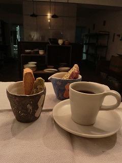 コーヒーのうつわ~on a snowy day~展だより 6_b0132444_21434655.jpg