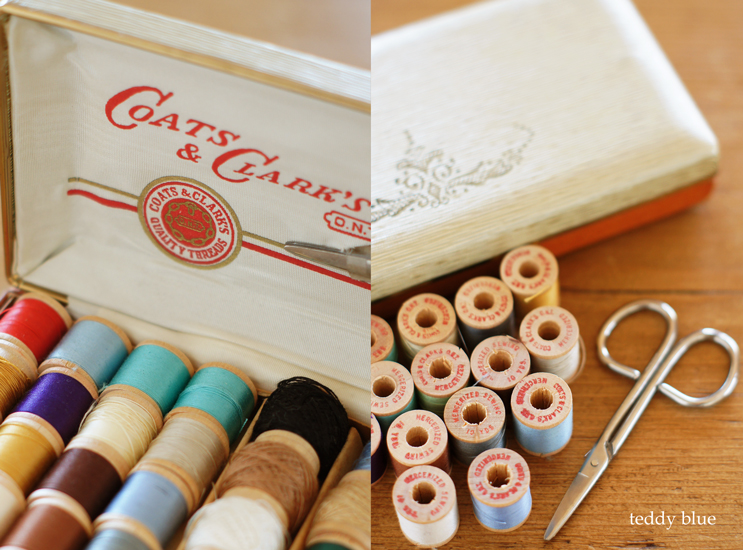 vintage sewing kit  ヴィンテージのソーイングセット_e0253364_21145092.jpg