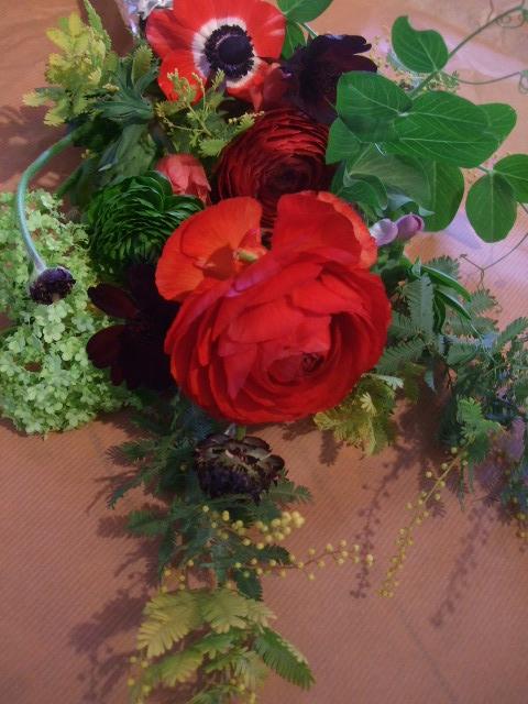 オークリーフ花の教室(落合さんの作品)_f0049672_17121093.jpg