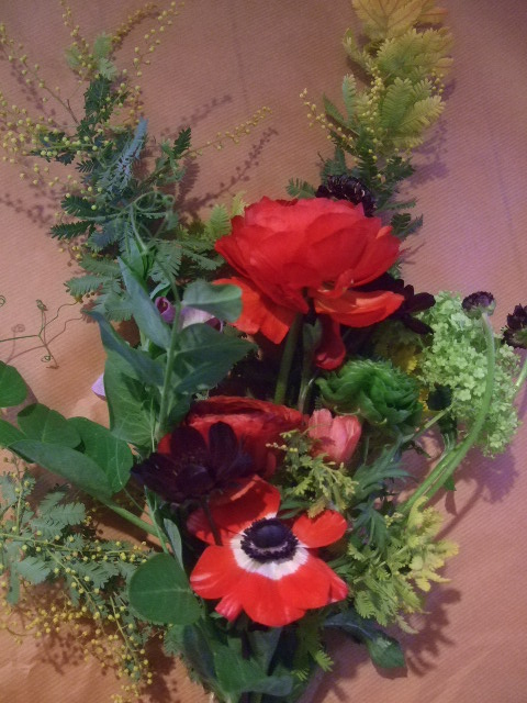 オークリーフ花の教室(落合さんの作品)_f0049672_1718216.jpg