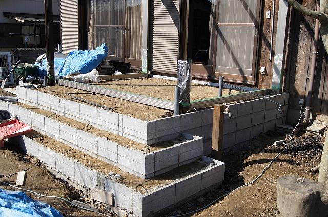 庭の工事 8_e0181373_21255450.jpg