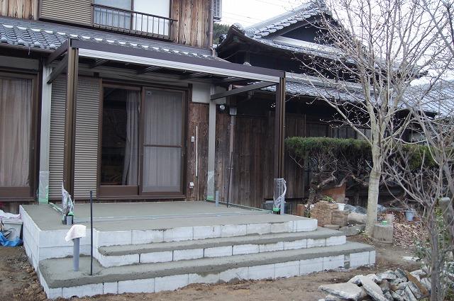 庭の工事 8_e0181373_212649.jpg