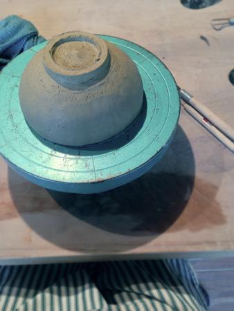 陶芸のワークショップ。  at home works さんにて_c0187782_2150270.jpg