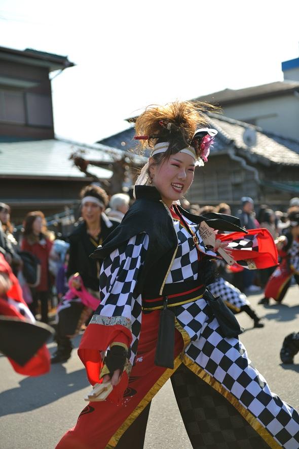 第14回吾妻さんよさこいパレード「銀輪舞隊」_f0184198_23201248.jpg