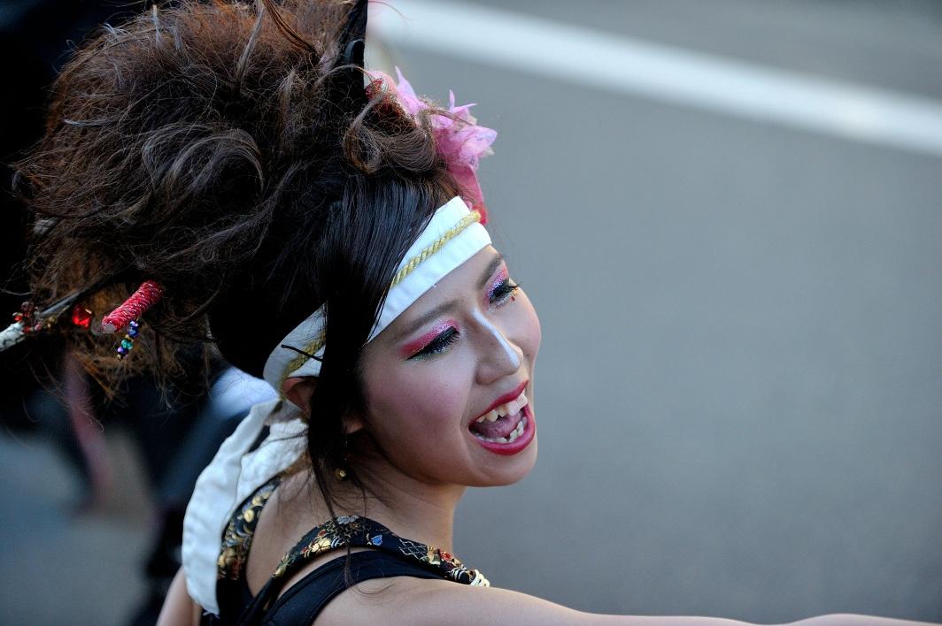 第14回吾妻さんよさこいパレード「銀輪舞隊」_f0184198_23202289.jpg