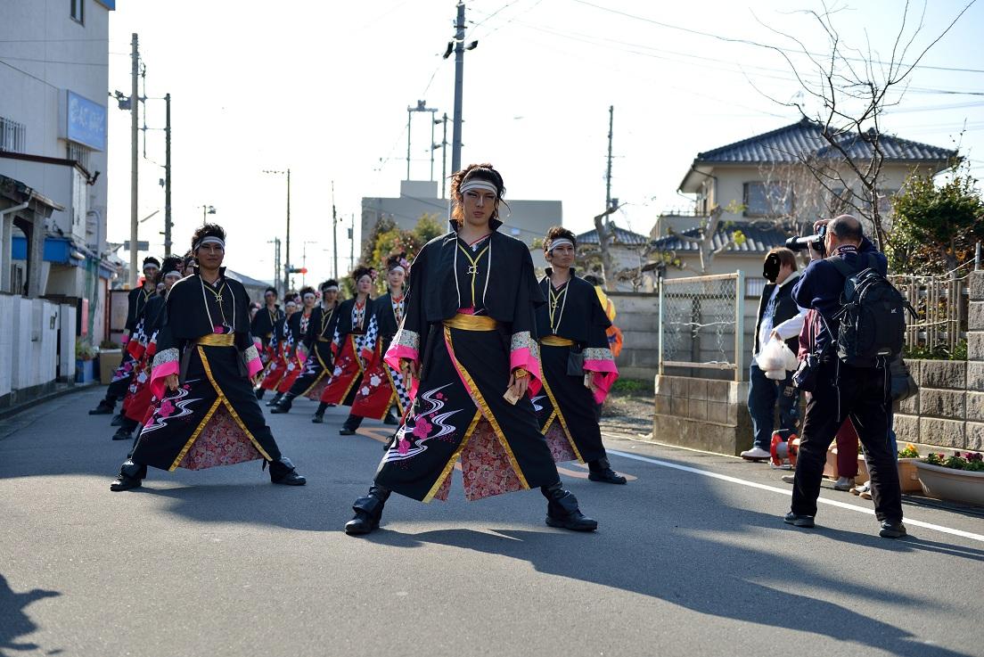 第14回吾妻さんよさこいパレード「銀輪舞隊」_f0184198_2320249.jpg