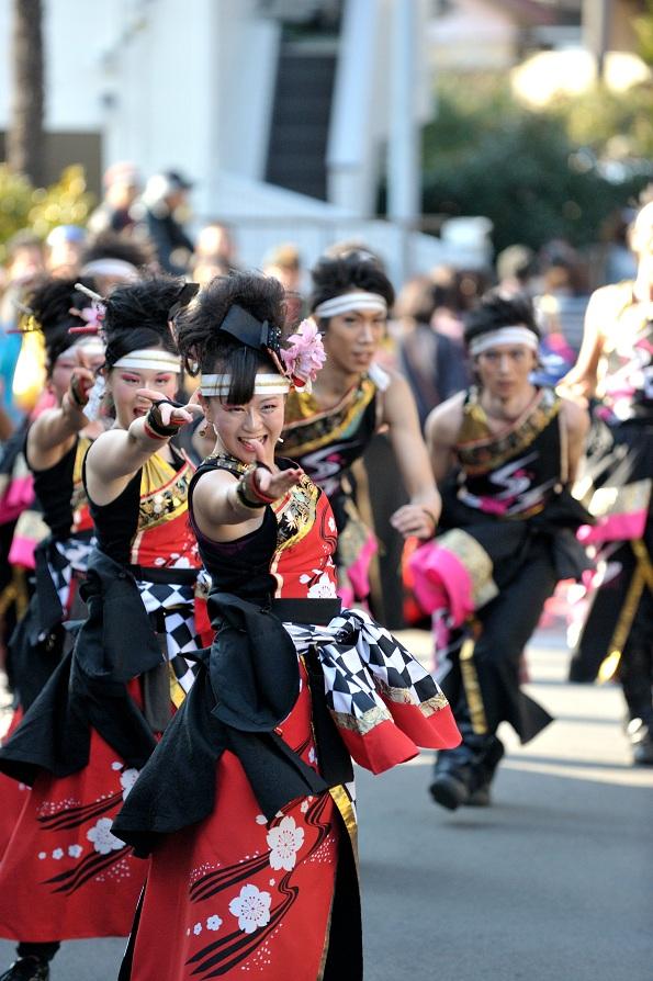 第14回吾妻さんよさこいパレード「銀輪舞隊」_f0184198_23203238.jpg