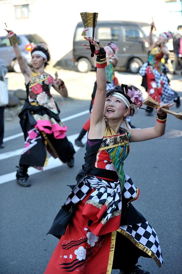第14回吾妻さんよさこいパレード「銀輪舞隊」_f0184198_23205487.jpg