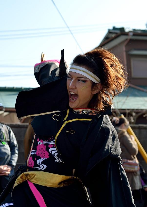 第14回吾妻さんよさこいパレード「銀輪舞隊」_f0184198_2320791.jpg