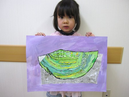 城陽教室 ~水墨画で白菜を描こう~_f0215199_17201995.jpg