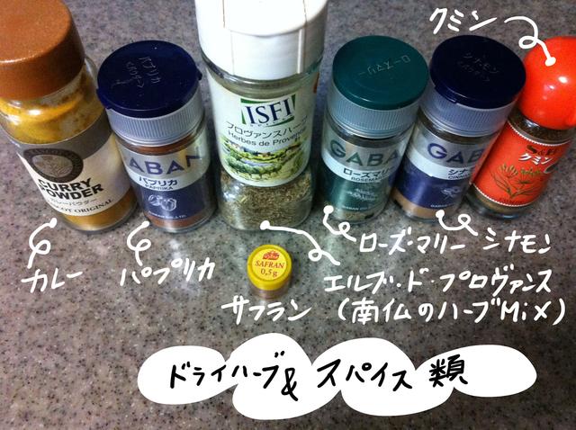 私のフレンチ用調味料ラインナップ_e0262430_17245911.jpg
