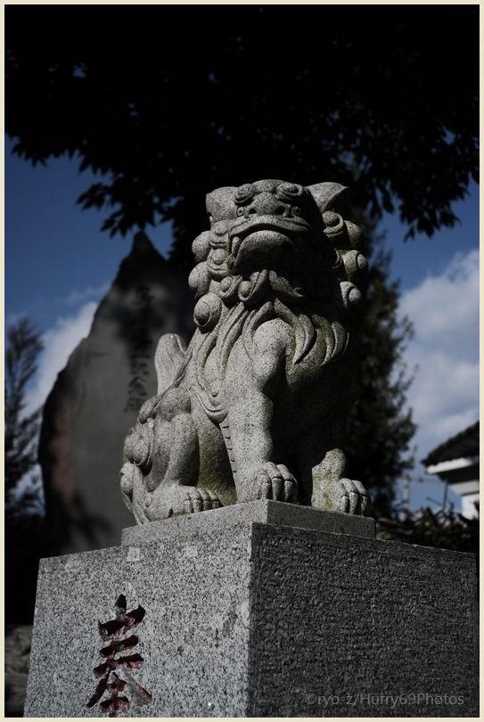 狛犬コレクション~別府社(日野市)~ X-E1_e0063851_1822479.jpg