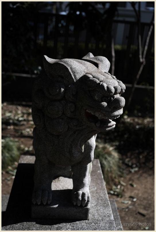 狛犬コレクション~別府社(日野市)~ X-E1_e0063851_1824280.jpg