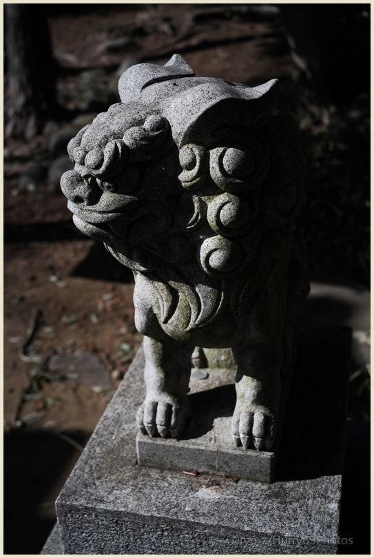 狛犬コレクション~別府社(日野市)~ X-E1_e0063851_1825190.jpg