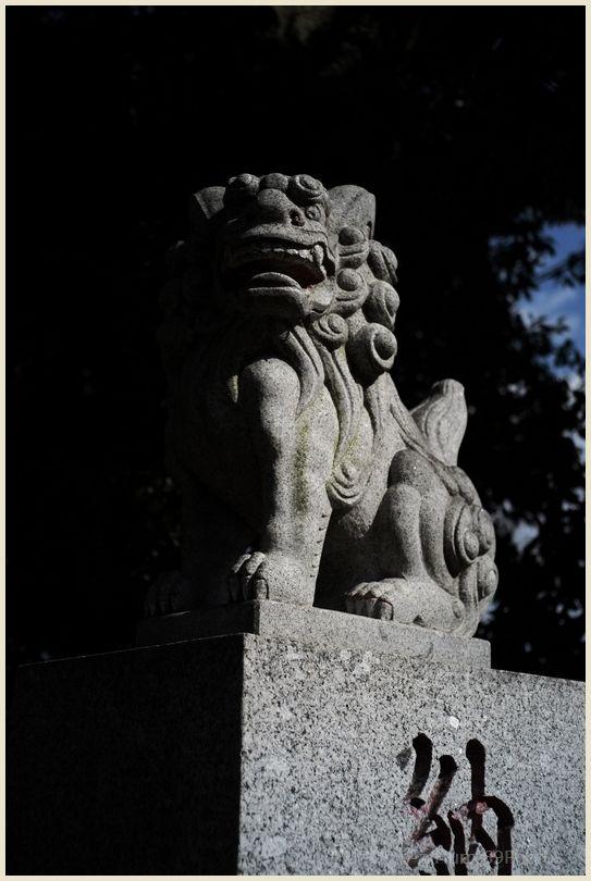 狛犬コレクション~別府社(日野市)~ X-E1_e0063851_182994.jpg