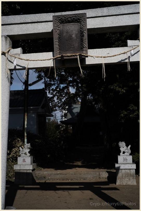 狛犬コレクション~別府社(日野市)~ X-E1_e0063851_183380.jpg