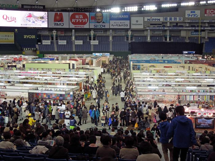 東京国際キルトフェスティバル開幕!_c0121969_2555889.jpg