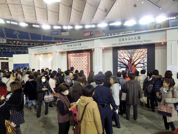 東京国際キルトフェスティバル開幕!_c0121969_257992.jpg