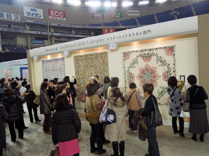 東京国際キルトフェスティバル開幕!_c0121969_2592253.jpg