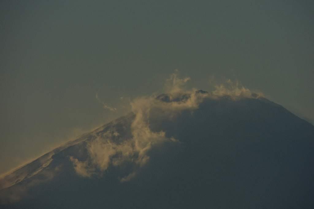 雪のハギマシコ/今日のカワセミ&アリスイ/大荒れ富士山/お年玉付き年賀葉書_b0024798_2032627.jpg