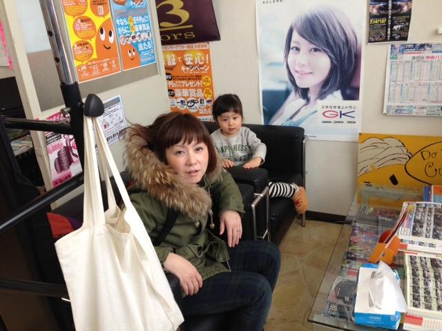 カオちゃんご来店(≧∇≦)_b0127002_13434469.jpg