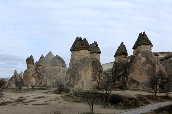 トルコ旅行  カッパドキア 妖精の煙突_e0154202_1005684.jpg