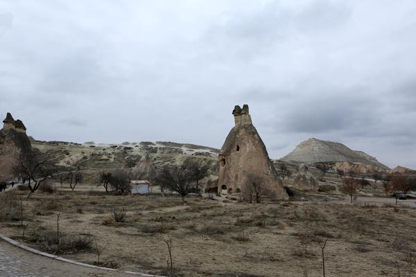 トルコ旅行  カッパドキア 妖精の煙突_e0154202_1013027.jpg