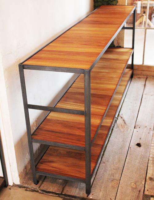『iron  shelf   teakwood』_f0192906_1062081.jpg