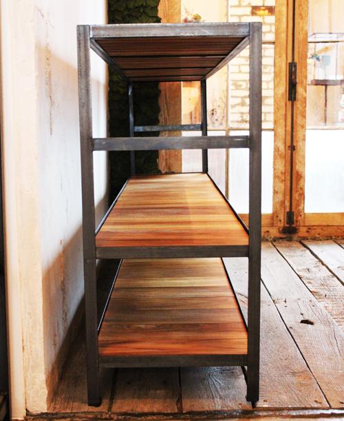 『iron  shelf   teakwood』_f0192906_106315.jpg