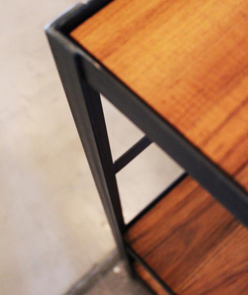 『iron  shelf   teakwood』_f0192906_1063879.jpg