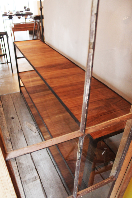 『iron  shelf   teakwood』_f0192906_1072844.jpg