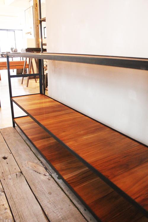 『iron  shelf   teakwood』_f0192906_1074560.jpg