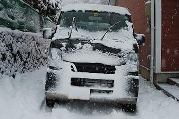 雪の日の朝帰り_b0259218_116375.jpg